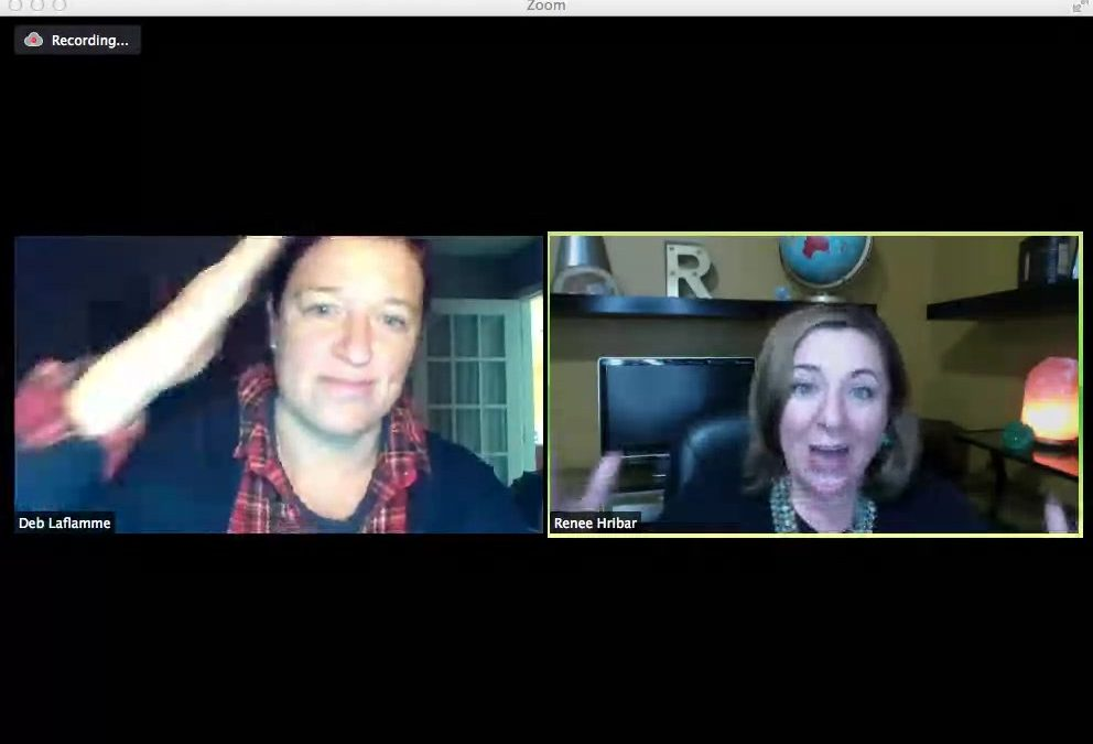 FREE in-Person Meetup!! It's gonna be wicked awesome!!  We (Deb Linsky Laflamme & Renee Hribar) met a few years back via planet internet, of course. We've collaborated on projects and hosted lives, al…