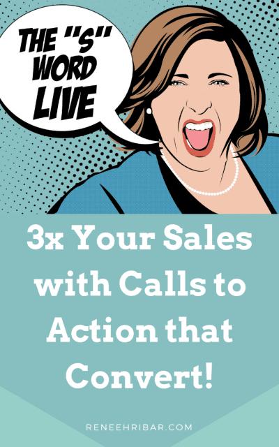 3 Little Letters that 3X Your Sales!!