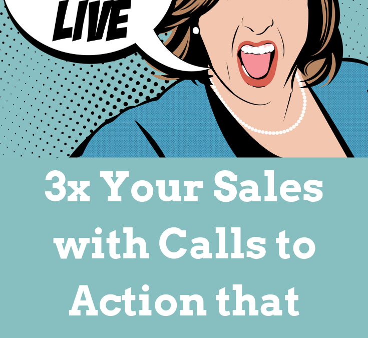3 Little Letters that 3X Your Sales!!