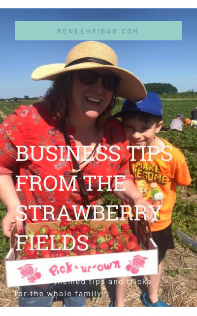Business Lessons from the Strawberry Fields