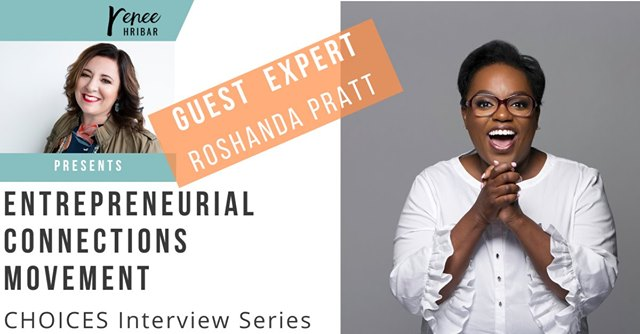 Special Guest Interview with Roshanda Pratt
