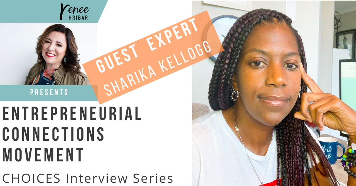Special Guest Interview with Sharika Kellogg