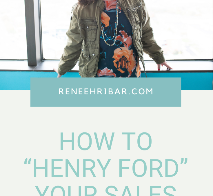 """How to """"Henry Ford"""" Your Sales Process"""