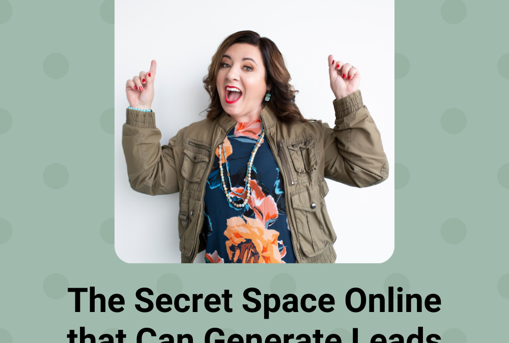 The Secret Space Online that Can Generate Leads & Sales for FREE (so that you never launch to  crickets)